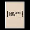 """Quadro """"Iura novit curia"""""""
