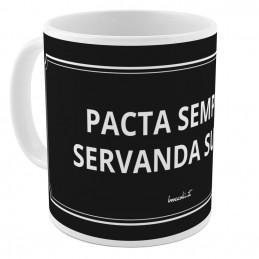 "Tazza ""Pacta servanda"""